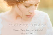 Fine art Wedding photography workshop in the UK
