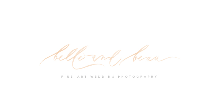Fine Art Wedding Photographer UK | Yorkshire Wedding Photographer | Belle and Beau Photography | UK Destination Wedding Photographer logo